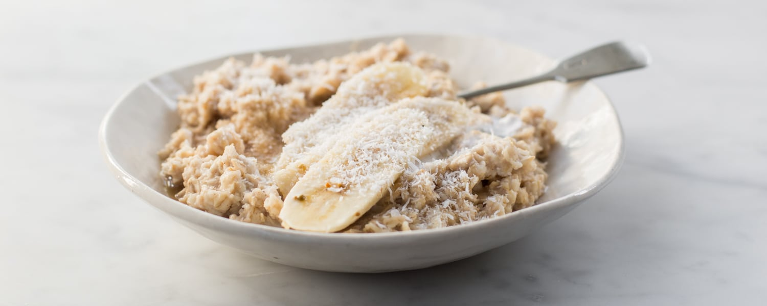 5 minute banana oatmeal