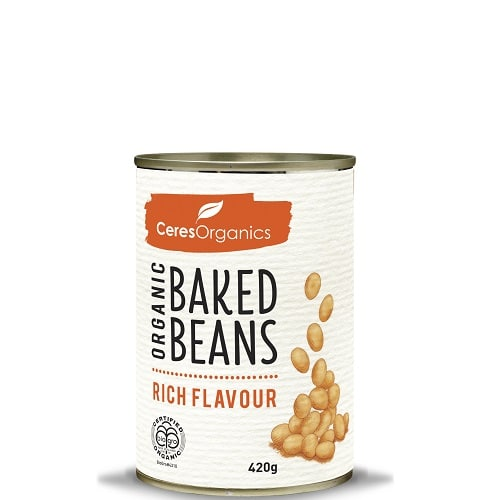 Organic Baked Beans (can) 400g