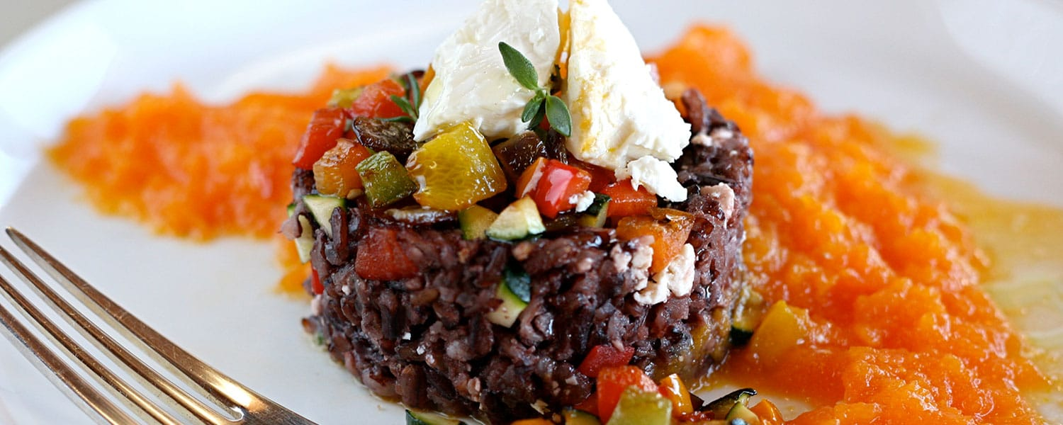 Black-Rice-with-Carrot-Juice