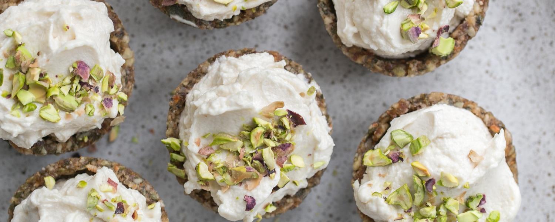 vegan lemon mini cheesecake recipes