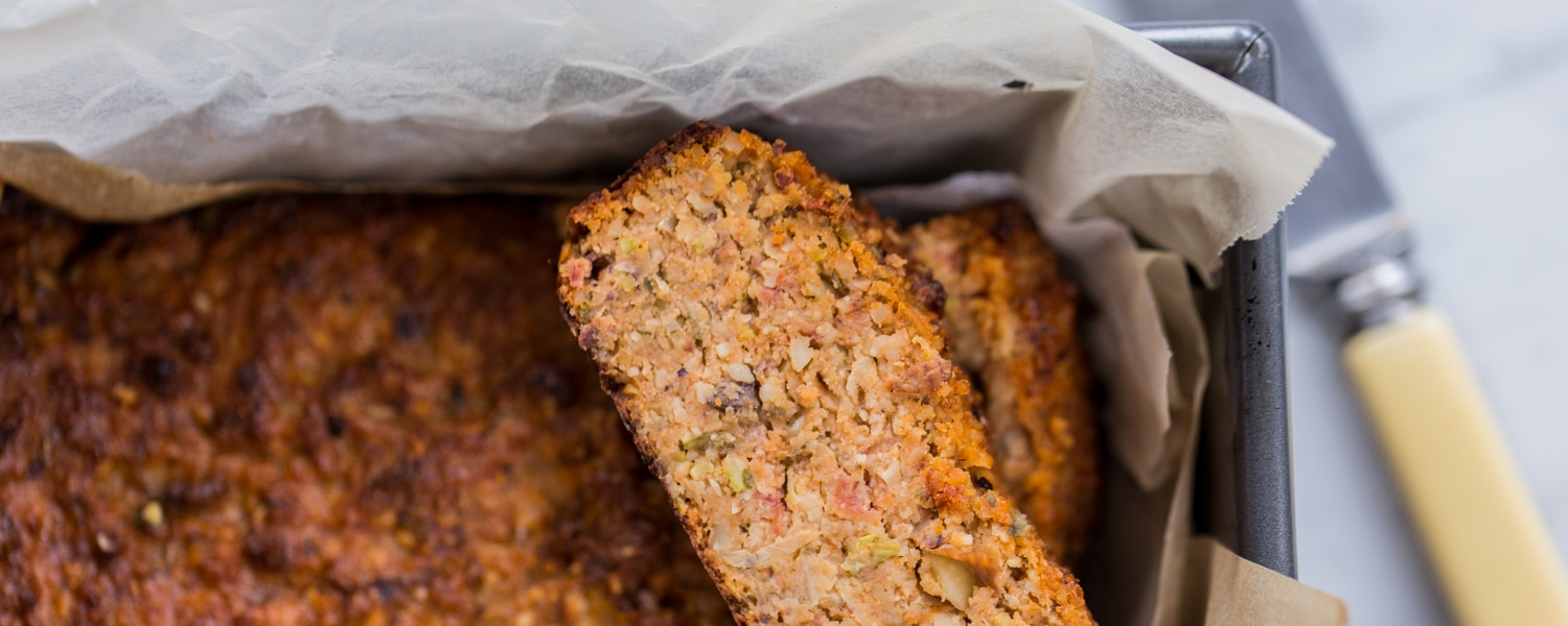 wholefood vegetarian nut roast